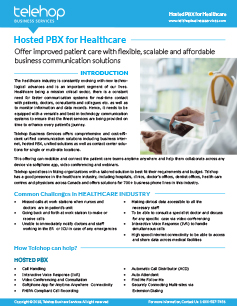 Hosted PBX for Healthcare