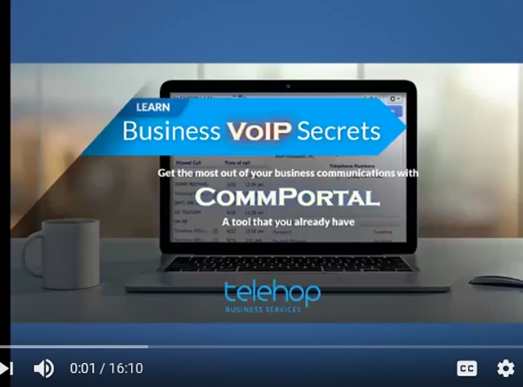Learn Business VoIP Secrets - Get the most out of your business communications with COMMPORTAL – A tool that you already have